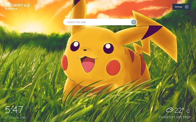 Pokemon Wallpapers & New Tab
