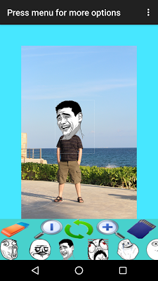 Easy Camera Meme Creator Free - screenshot