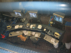 Photo: Control areas for Destiny, Unity and Harmony module Mockups, where astronauts perform ISS simulations