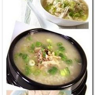 Chicken Porridge (Congee)
