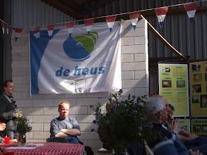 Photo: De vlag van de sponsor.