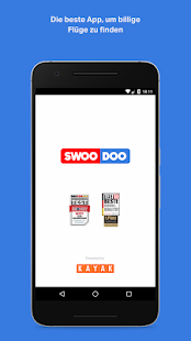 SWOODOO - billiger fliegen- screenshot thumbnail