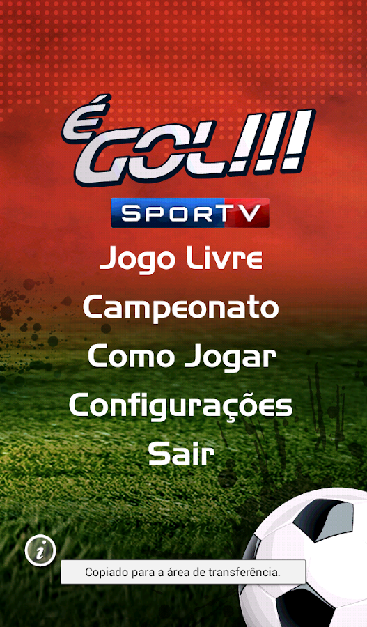 É Gol!!! SporTV- screenshot