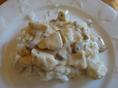 Healthy Creamy Mushroom Chicken Recipe