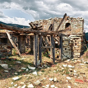 home in the mountains by Gergana Stefanova - Buildings & Architecture Decaying & Abandoned ( home, mountain, rodopi, past, abandoned, decay, bulgaria )