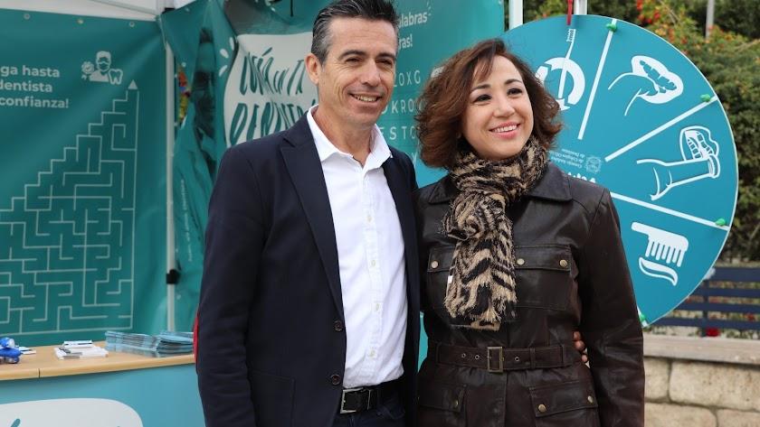 indalecio Segura y Sonia Berbel.