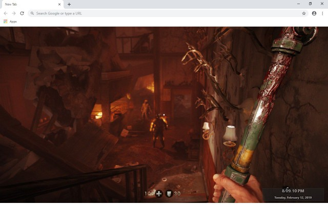 Wolfenstein: Youngblood New Tab