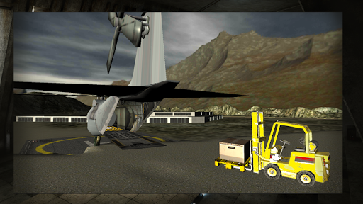 Relief Cargo Helicopter