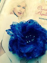 Photo: Цветок из ткани на платье