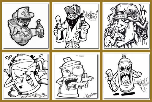 Drawing Graffiti Characters 1.1.2 screenshots 8