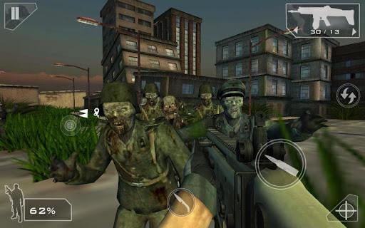 Green Force: Zombies HD  screenshots 3