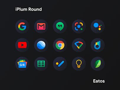 iPlum – Round Icon Pack (MOD, Paid) v2.0 2