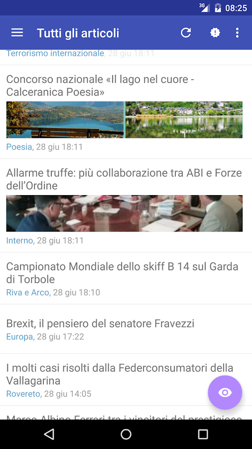 L'Adigetto- screenshot