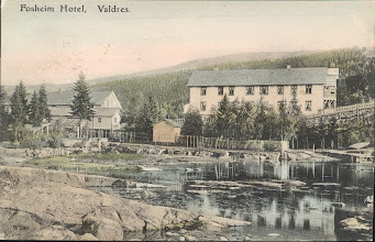 Photo: Fosheim Hotell, 1906