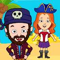 My Pirate Town - Sea Treasure Island Quest Games icon