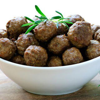 Meatballs with Ginger & Pineapple.