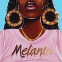 Melanin wallpapers: Girly, Cute, Girls icon