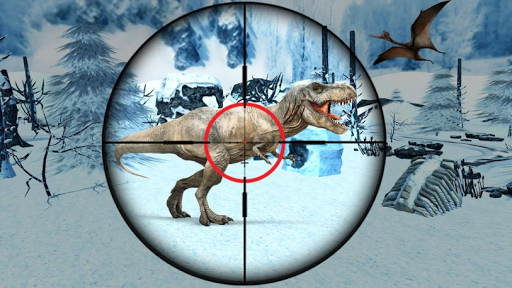 Dinosaur Hunter Survival Game : Free Dino Shooting apkpoly screenshots 1