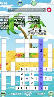 Kreuzgitter Rätsel
