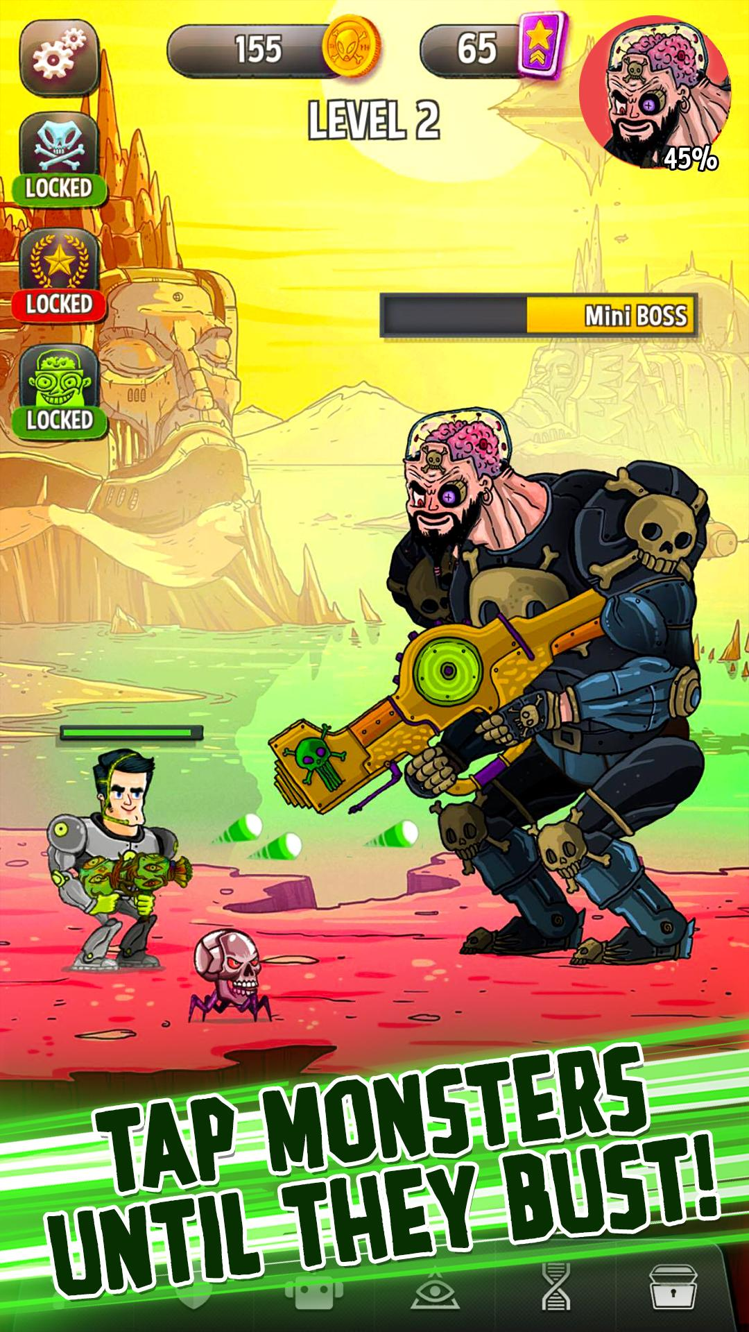 Tap Busters: Galaxy Heroes screenshot #5
