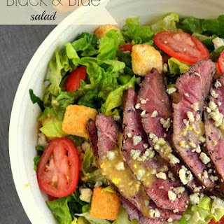 Black and Blue Salad