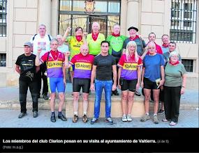 Photo: Los Clarion en Valtierra. Foto Diario de Noticias. http://www.noticiasdenavarra.com/2013/10/21/vecinos/ribera-alta/la-reparacion-de-la-memoria-cruza-fronteras