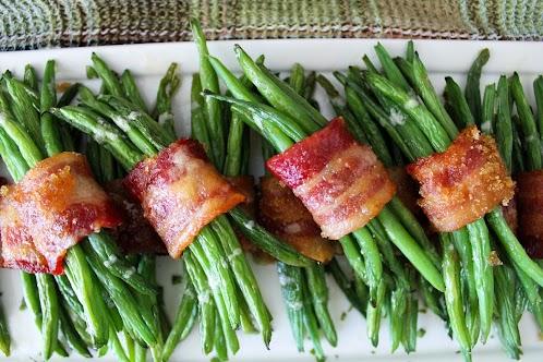 Bacon Bundled Green Beans