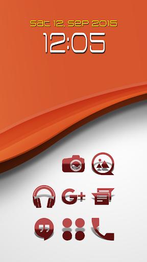 Kinis RR - Icon Pack screenshots 1