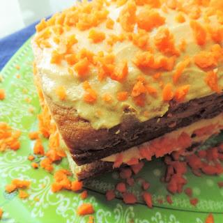 Carrot Cake Yogurt-Topped Chai Pound Cake
