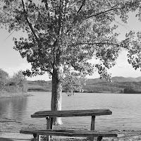 in riva al lago di