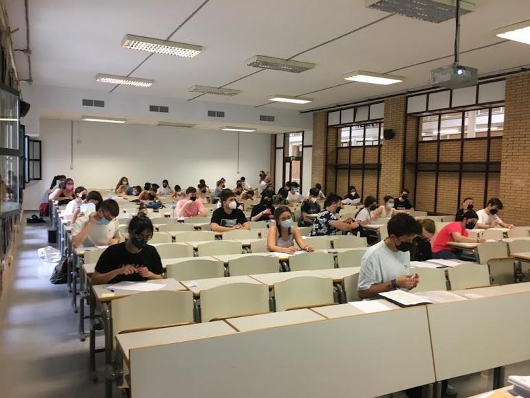 El primer examen ha sido de Lengua y Literatura.