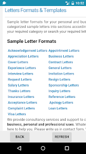 Complaint Letter Format For Network Problem.  Sample Letters Applications screenshot thumbnail Android Apps on Google Play
