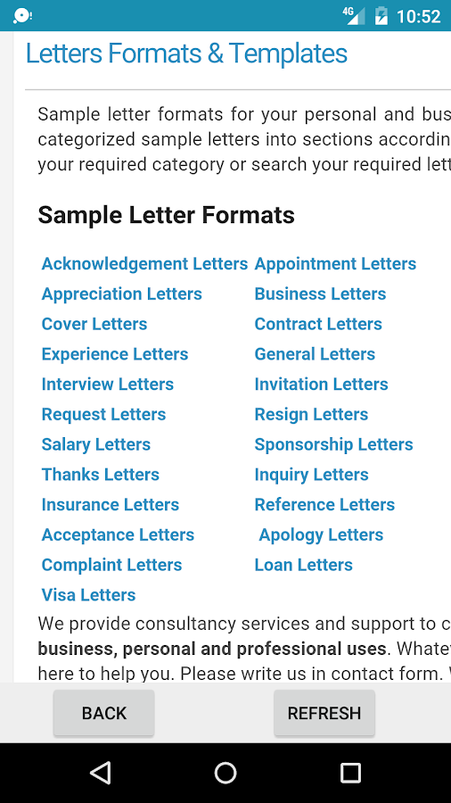 Sample letters applications android apps on google play sample letters applications screenshot thecheapjerseys Choice Image