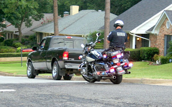 Photo: Tyler PD Motorcycle Traffic Stop on Public RD{ Is this a PERMISSIBLE Subject for Photography..? Streets, Sidewalks & Parks are FIRST AMENDMENT PROTECTED AREAS  across from Ridge Apts on Paluxy Drive ( Texas Code of Criminal Procedure-Art 2.133 Written Report Required for Traffic Stops and Pedestrian Stops)  Art. 2134 Compilation of Data [Racial Profiling Data] - Radar Guns Must be Calibrated Daily with a TUNING FORK and The Calibration Recorded in a Log book- Meticulous Record keeping required by Law [ This is why there is NO ERROR RATE  or GREY AREA in High-Tech Surveillance- Daubert Test Required