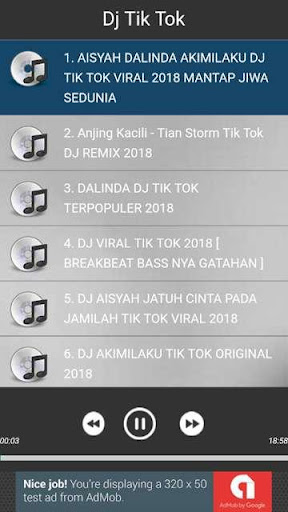 Dj Tik Tok 2018 1.0.0 screenshots 3