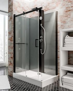 Cabine de douche hydromassante Korsika 120 x 80 cm