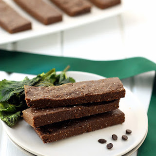No-Bake Mint Chocolate Protein Bars.