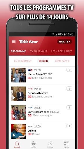 Télé Star — Guide TV,  Programmes et Replay 2.11.0 screenshots 1