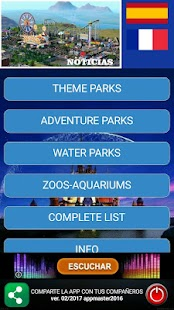Theme Parks Guide- screenshot thumbnail