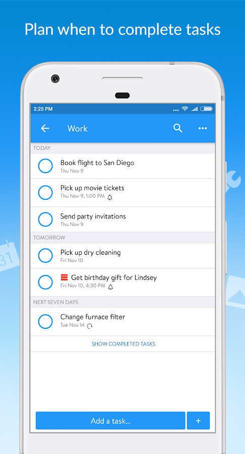 how to create a todo list on google