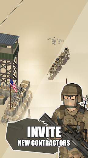 Idle Warzone 3d: Military Game - Army Tycoon 1.1 screenshots 5