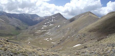 Photo: La Vall de Coma de Vaca amb el Torreneules, el Cim de la Coma del Clot i el Pic de Fontegre