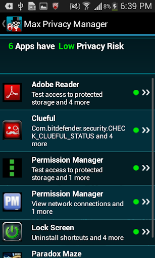 Max Privacy Manager screenshot 3