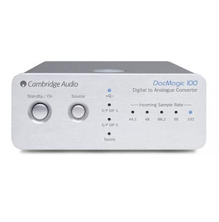 Cambridge Audio Digital DacMagic 100 Silver Universal UK/EU/
