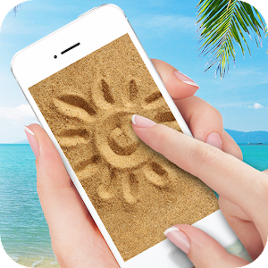 Draw on sand live wallpaper for PC and MAC