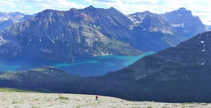 Photo: St. Mary's Lake - on our way down to Rising Sun
