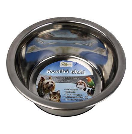 Hundskål Rostfri Antitip 2600ml 23cm
