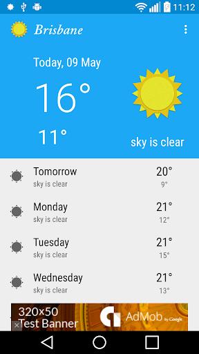 Brisbane - weather