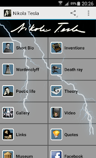 Nikola Tesla - náhled