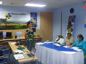 Photo: Asamblea General de RENOVABLES - Presidente Marlyng Buitrago, VicePresidente Jaime Munoz y Directora Ejecutiva, Dinora Sandino